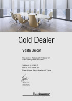Vesta Decor - Gold dealer Silent Gliss